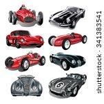car vector.car illustration... | Shutterstock .eps vector #341383541