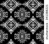 ethnic seamless pattern. ethno...   Shutterstock . vector #341388221