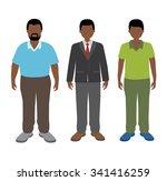 african man | Shutterstock .eps vector #341416259