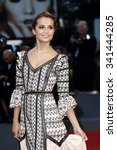 Small photo of VENICE, ITALY - SEPTEMBER 5: Alicia Vikander attends the premiere of 'A Danish Girl' during the 72nd Venice Film Festival on September 5, 2015 in Venice, Italy.