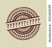 question mark rubber texture | Shutterstock .eps vector #341462039