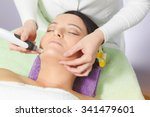 mesotherapy  anti ageing... | Shutterstock . vector #341479601
