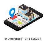 a vector illustration of a... | Shutterstock .eps vector #341516237