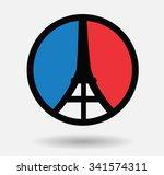 pray for france .pray for nice | Shutterstock .eps vector #341574311