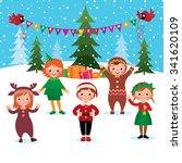 cartoon vector illustration of...   Shutterstock .eps vector #341620109