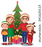 cartoon vector illustration of... | Shutterstock .eps vector #341620115