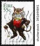 ireland   circa 2007  a stamp... | Shutterstock . vector #341644841