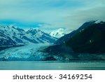 alaskan glacier | Shutterstock . vector #34169254