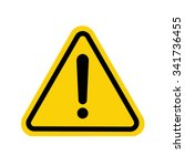 Hazard Warning Attention Sign