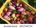 Fruit Box Full Of Prickly Pears ...