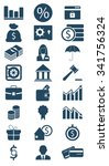 business and finance icon | Shutterstock .eps vector #341756324