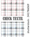 check textil | Shutterstock .eps vector #341786069