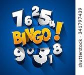 creative abstract bingo jackpot ...   Shutterstock .eps vector #341797439