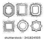 frame vector | Shutterstock .eps vector #341824505
