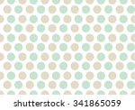 polka dot background soft colors | Shutterstock . vector #341865059