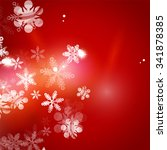 holiday red abstract background ... | Shutterstock . vector #341878385
