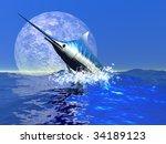 Bill Fish   A Blue Marlin...