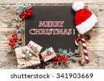 christmas card | Shutterstock . vector #341903669