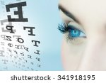 medicine and vision concept  ... | Shutterstock . vector #341918195