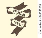 vintage banner | Shutterstock .eps vector #341945759