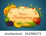 vector illustration of happy... | Shutterstock .eps vector #341986271