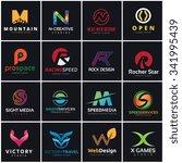 logo set logo collection logo... | Shutterstock .eps vector #341995439