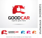 good car logo template design... | Shutterstock .eps vector #342008351