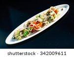 seafood salad | Shutterstock . vector #342009611