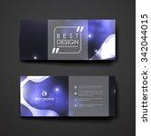 set of modern design banner... | Shutterstock .eps vector #342044015