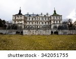 Old Stylized Pidhirtsi Castle ...