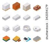 construction materials... | Shutterstock .eps vector #342054179