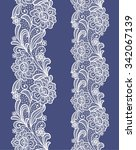 seamless  abstract lace  floral ...