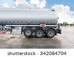 Truck With Fuel Tank In Gas...
