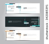 vector design banner... | Shutterstock .eps vector #342085391