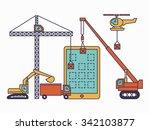 development mobile app and... | Shutterstock .eps vector #342103877