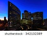 la defense  paris business... | Shutterstock . vector #342132389