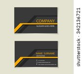 modern simple light business... | Shutterstock .eps vector #342136721
