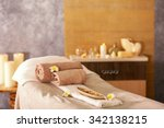 place for relaxation in modern... | Shutterstock . vector #342138215
