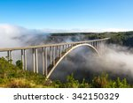 famous bridge on the garden... | Shutterstock . vector #342150329