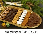 Assorted Cookies For Christmas