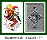 Joker Playing Card And Black...