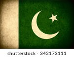 flag of pakistan or pakistani... | Shutterstock . vector #342173111