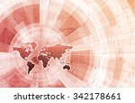 supply channel coordination or... | Shutterstock . vector #342178661
