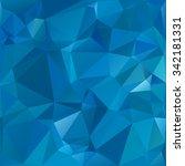 blue polygonal mosaic... | Shutterstock .eps vector #342181331