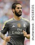 barcelona   sept  12  isco...   Shutterstock . vector #342183101