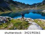ann lake and mt.shuksan ... | Shutterstock . vector #342190361