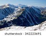 View Of Snowy Ridges Of Zapadn...