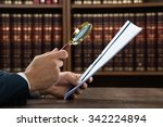 Cropped Image Of Lawyer...