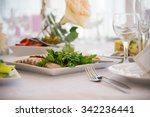 dish of food. cold snacks....   Shutterstock . vector #342236441