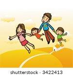 family | Shutterstock .eps vector #3422413
